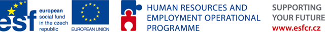 Project was supported from the ESF – Operational Programme Human Resources and Employment