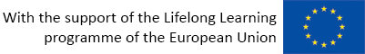 With the support of the Lifelong Learning programme of the European Union
